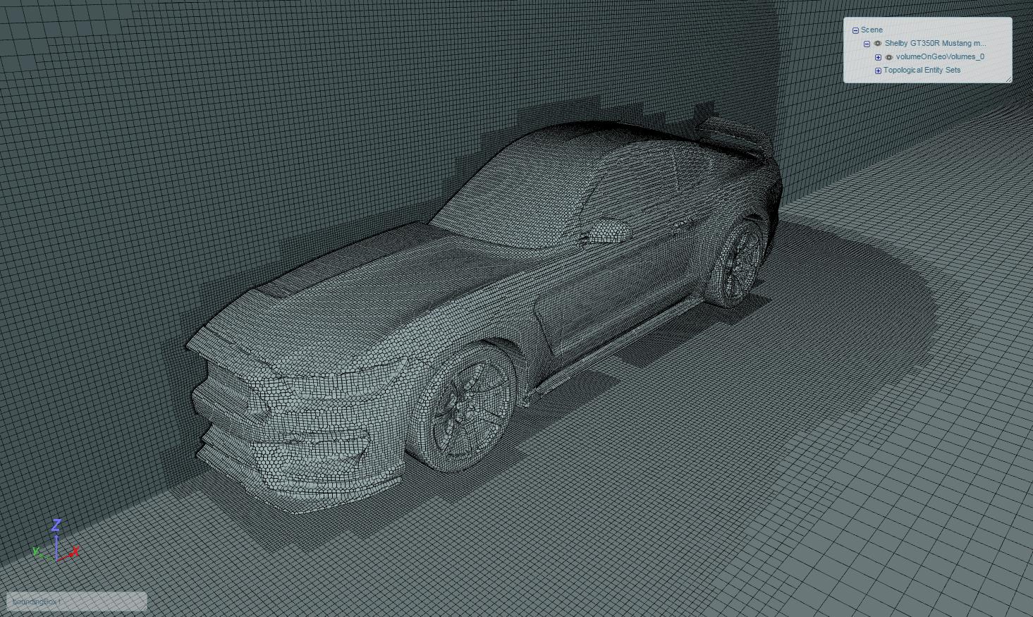 Automatic mesh.