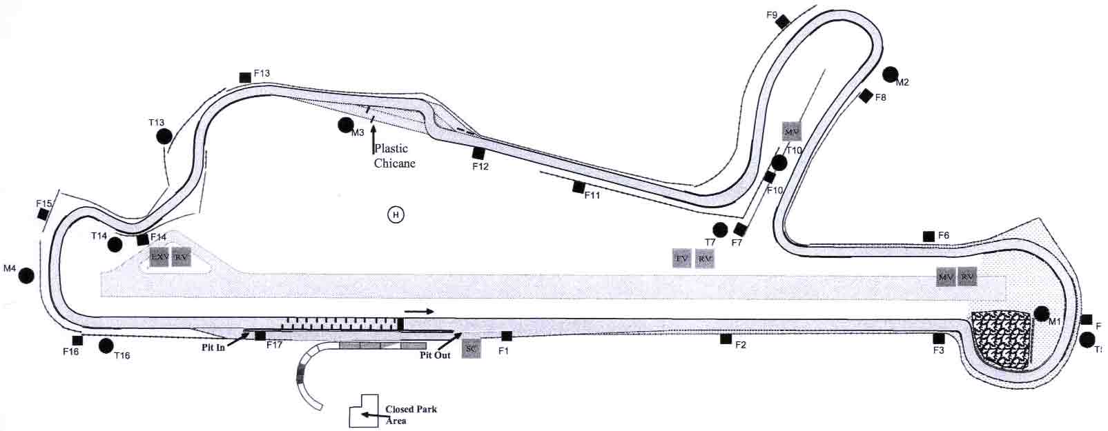 Figure 2. Circuito de Velocidade Vasco Sameiro (also known as Circuit of Braga).