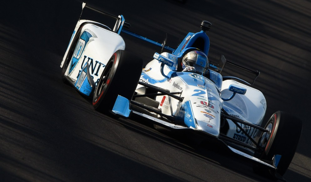 No. 27 Marco Andretti in the 101st running of the indianapolis 500