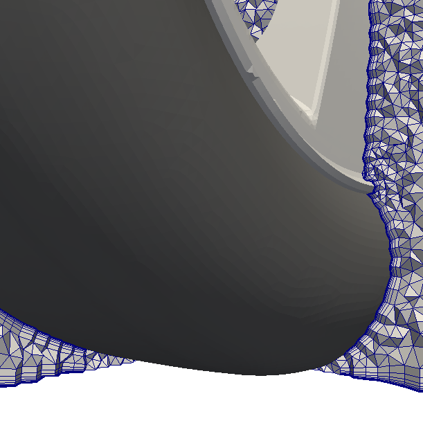 mesh with prism layers disabled